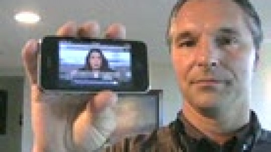 Live streams from an Iphone